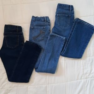3 pair Size 8 girls Jeans
